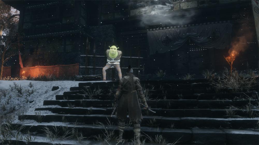 Shrek is now in Sekiro, where he belongs screenshot