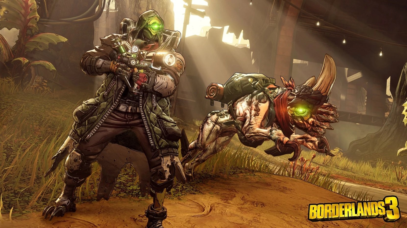 Borderlands 3 might include alternate box art of a Psycho with three finger guns screenshot