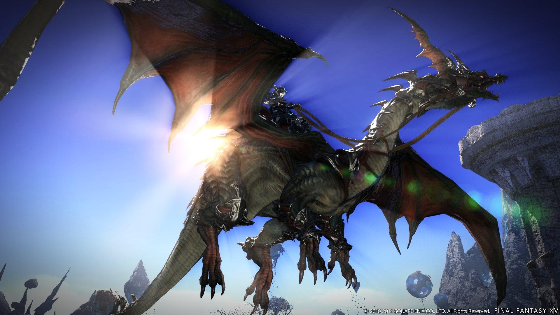 Square Enix has made Final Fantasy XIV's Heavensward expansion free screenshot