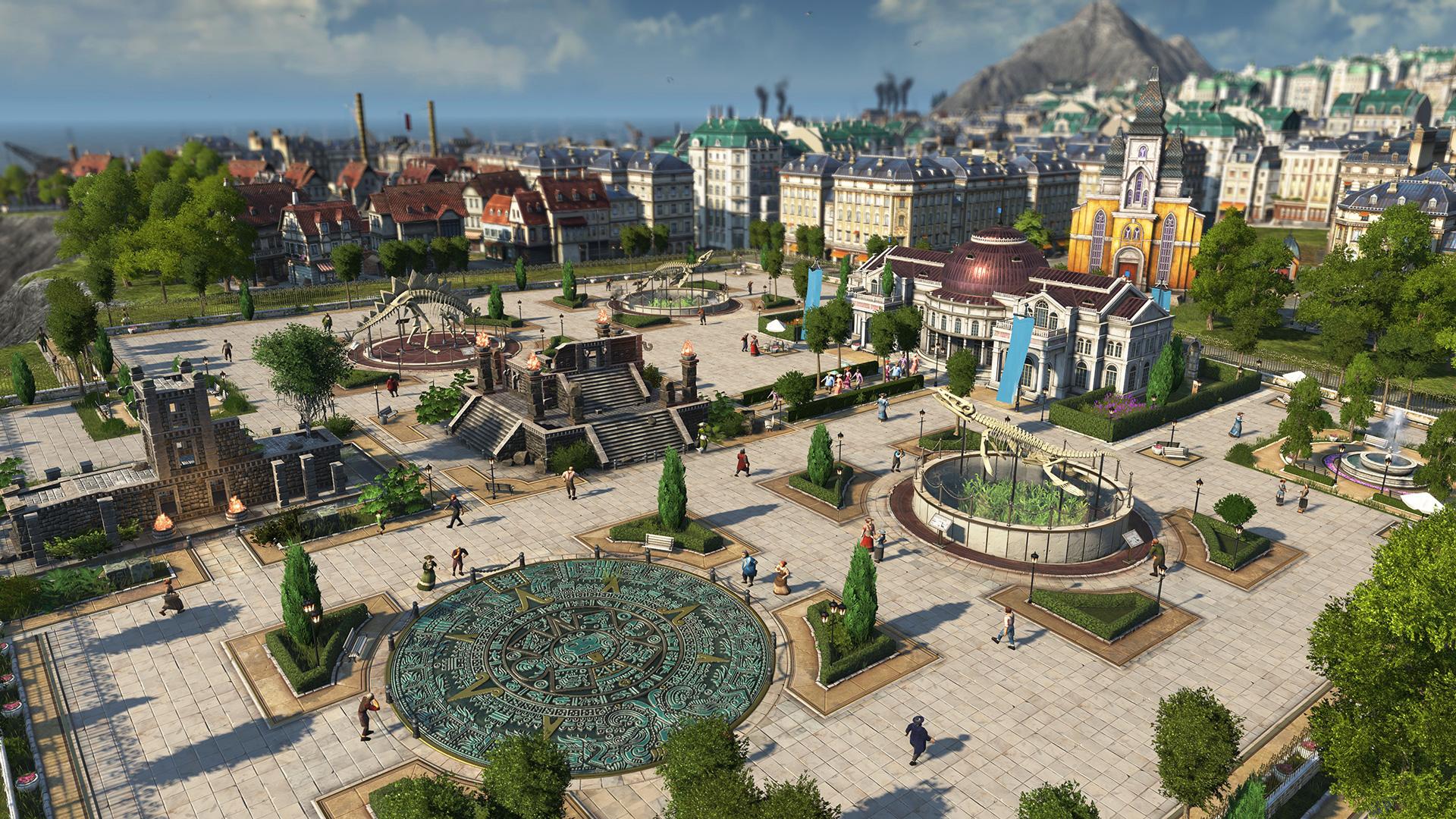Building a city in Anno 1800
