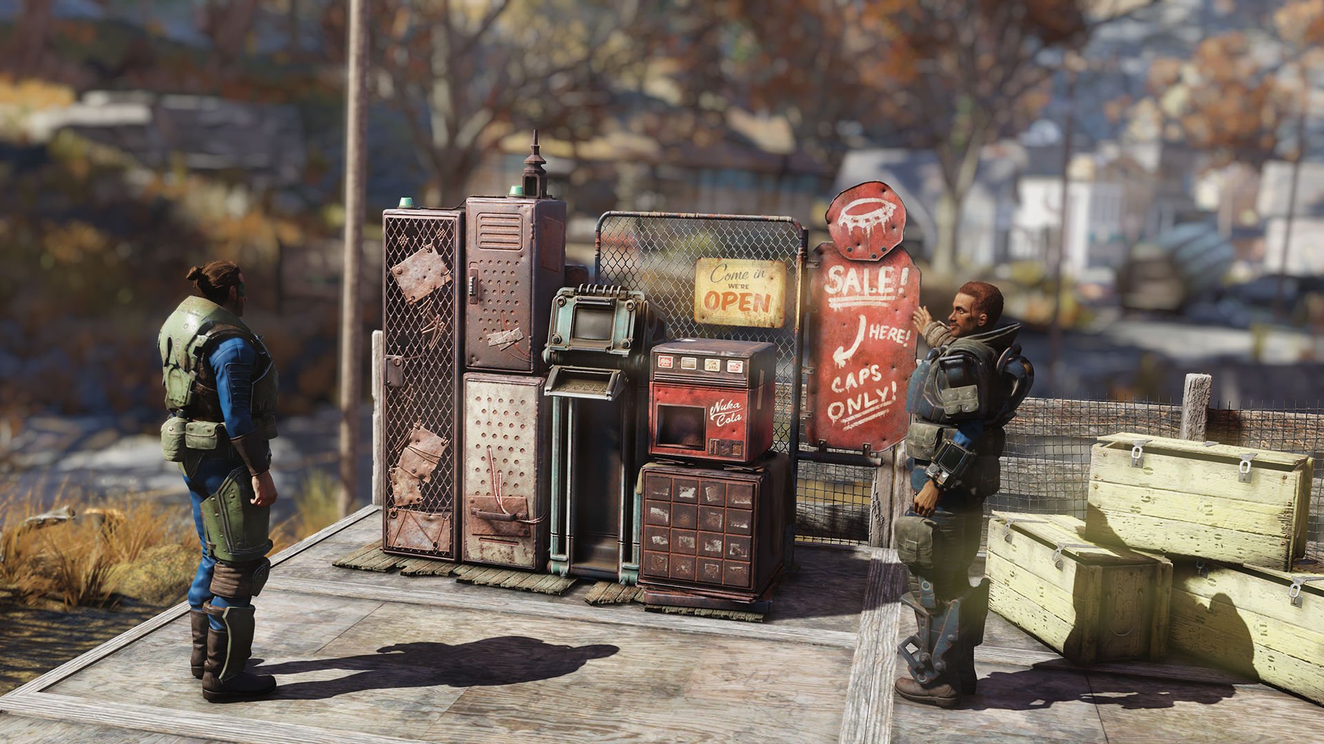 Bethesda teases Fallout 76's upcoming Ultima Online-esque player vending mechanic