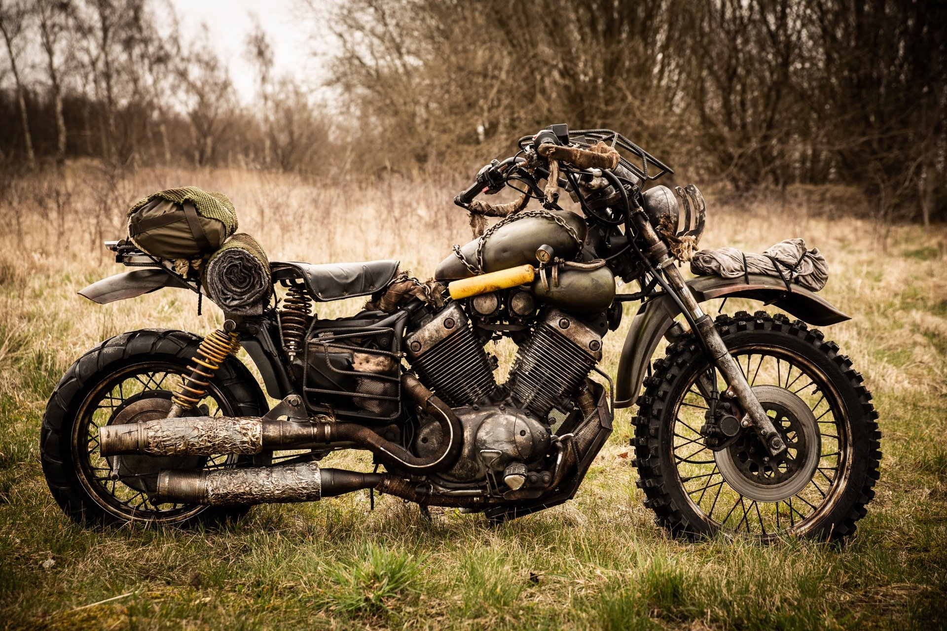 There's a real version of Deacon's Days Gone bike screenshot