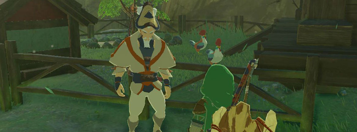 A Zelda: Breath of the Wild player used a cucco chicken army to fight a Molduga sand worm and it's glorious