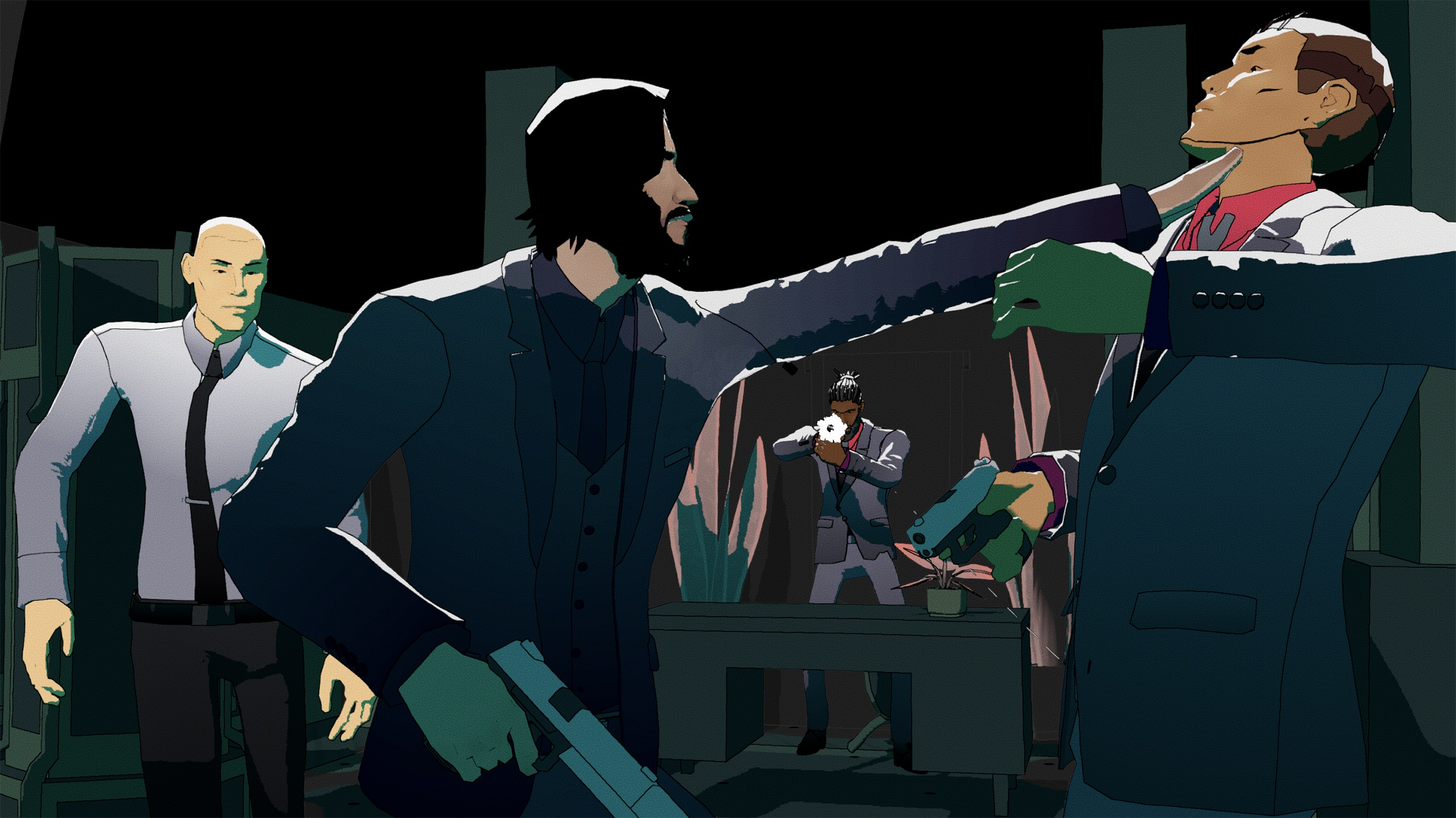 John Wick is getting an officially-licensed XCOM-like strategy game screenshot