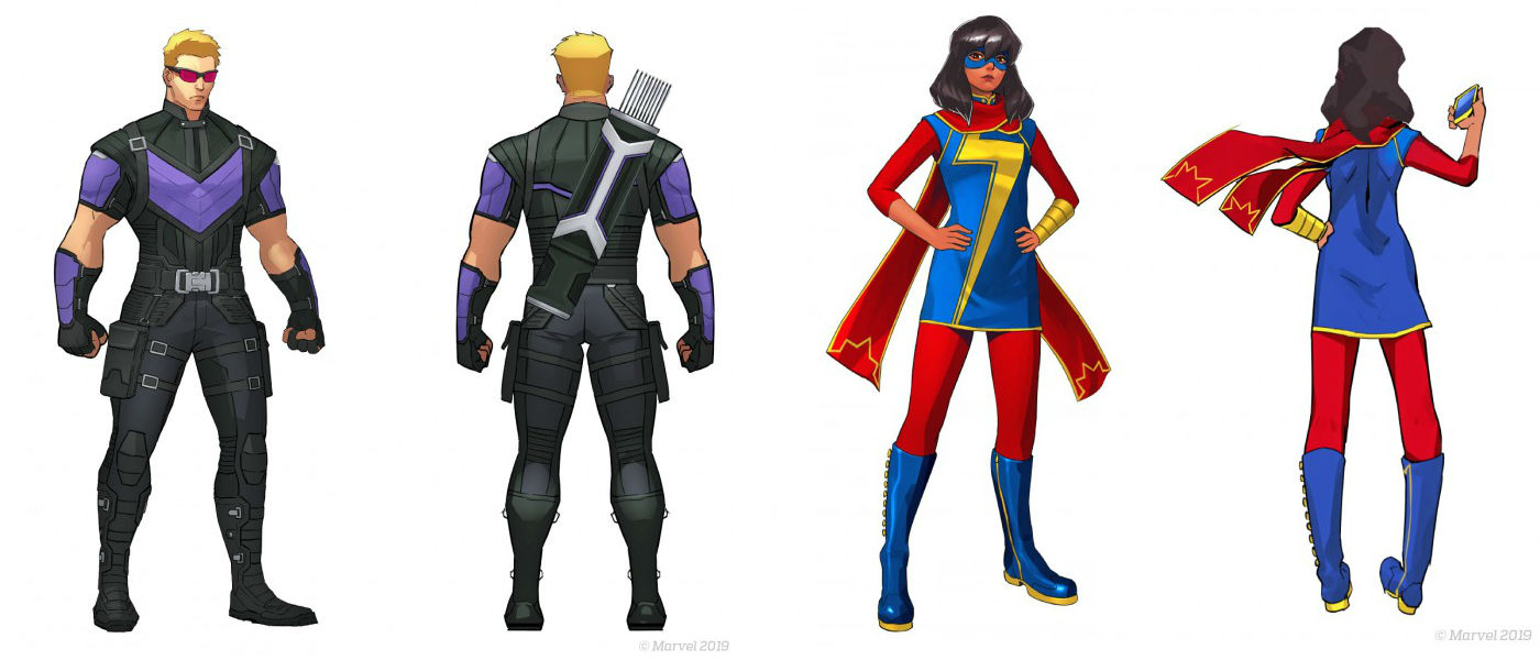 My man Hawkeye and Kamala Khan confirmed for Marvel Ultimate Alliance 3 screenshot