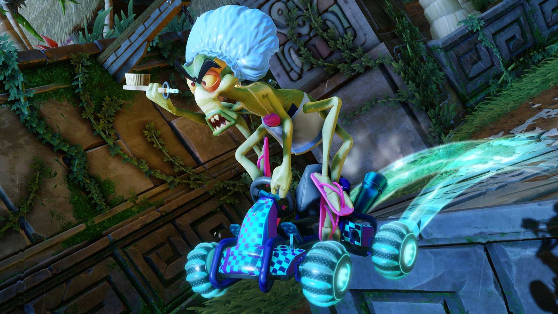 Crash Team Racing Nitro-Fueled will let you deck out your karts screenshot