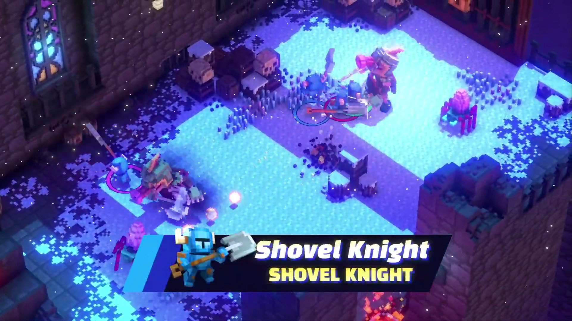 Riverbond recruits Shovel Knight and other indie favorites screenshot