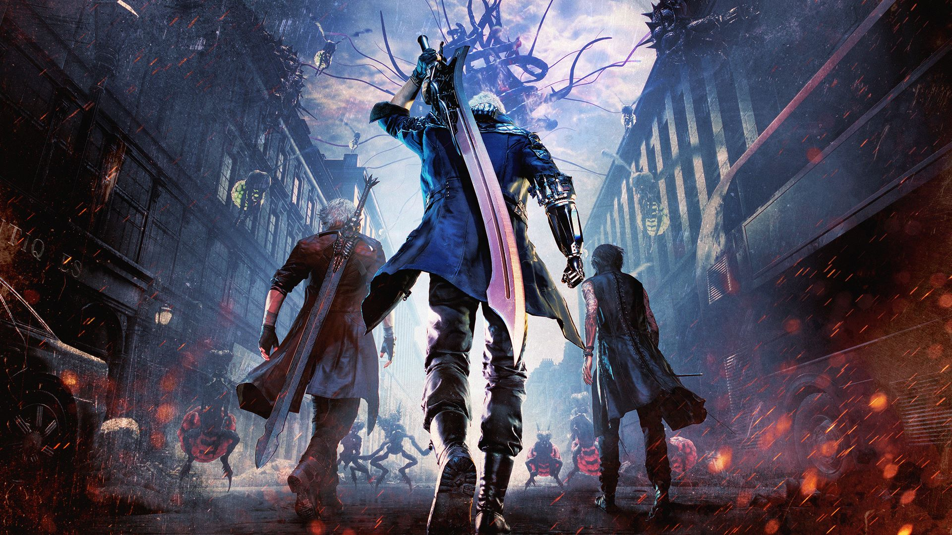 The future of Devil May Cry is bright again according to Capcom screenshot