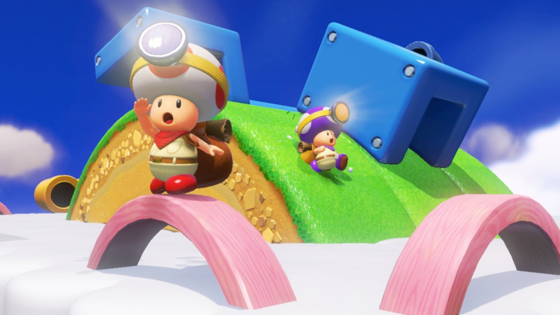 YouTuber uncovers a bunch of unused Captain Toad levels screenshot