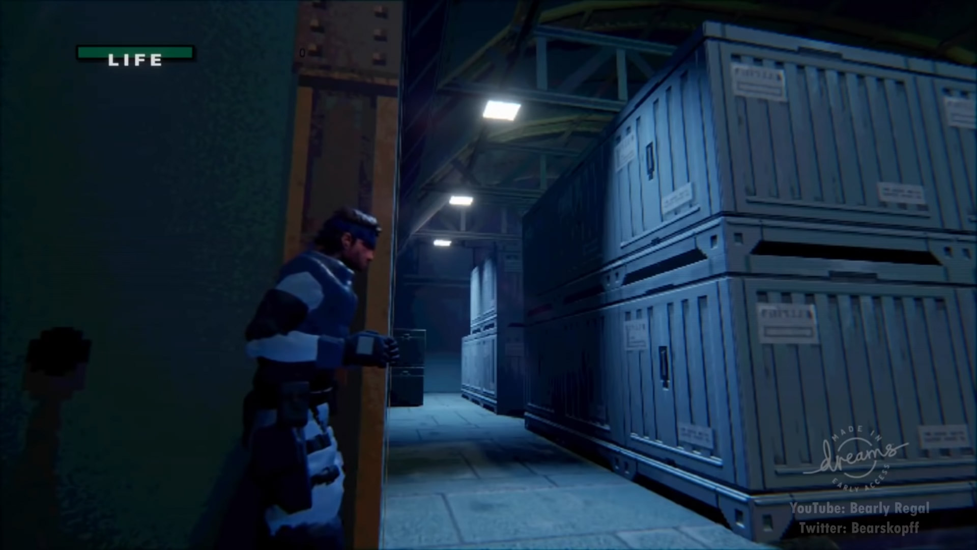 This Metal Gear Solid tribute in Dreams is off to a terrific