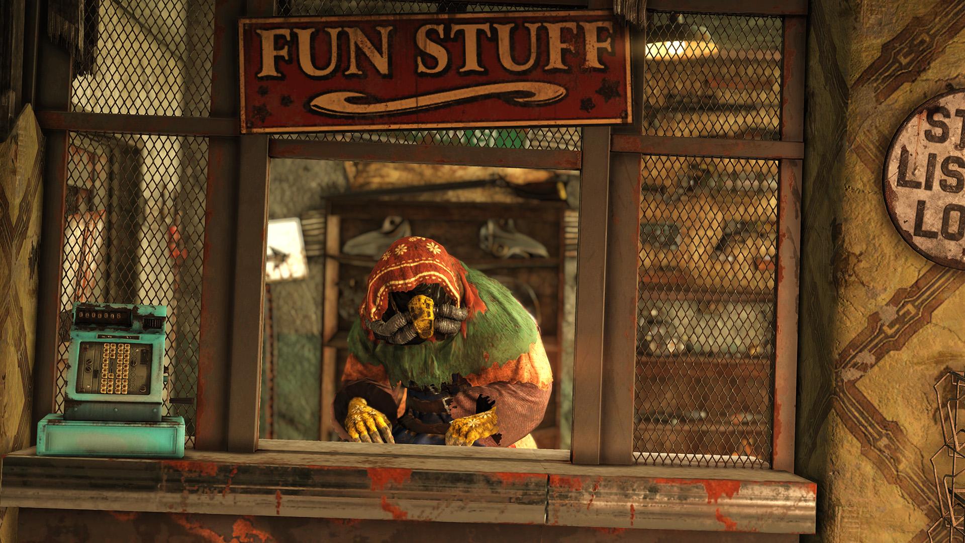 Bethesda details the next big Fallout 76 update, the Purveyor legendary vendor screenshot