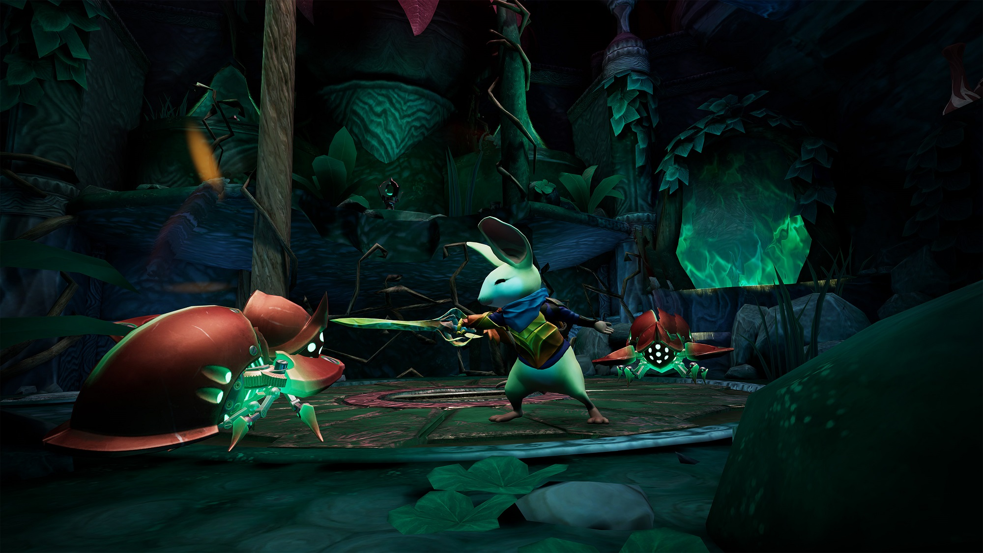Adorable VR platformer Moss is getting new content that's coming to Oculus Quest first screenshot