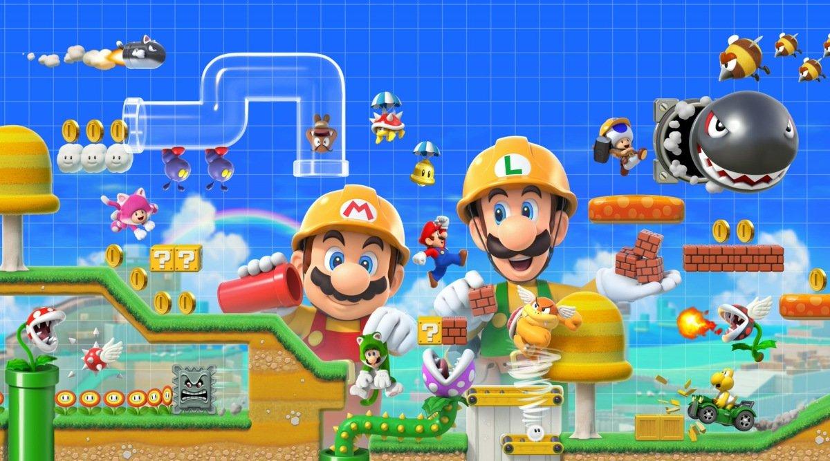 Oh my, Super Mario Maker 2 is getting a super last-minute Nintendo Direct screenshot