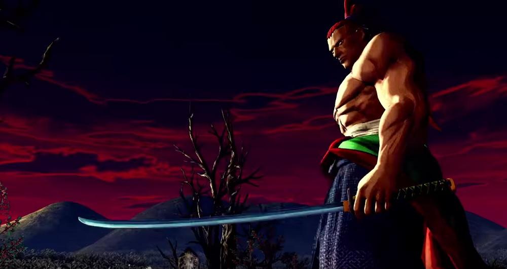 The dangerous Genjuro Kibagami returns in Samurai Shodown screenshot