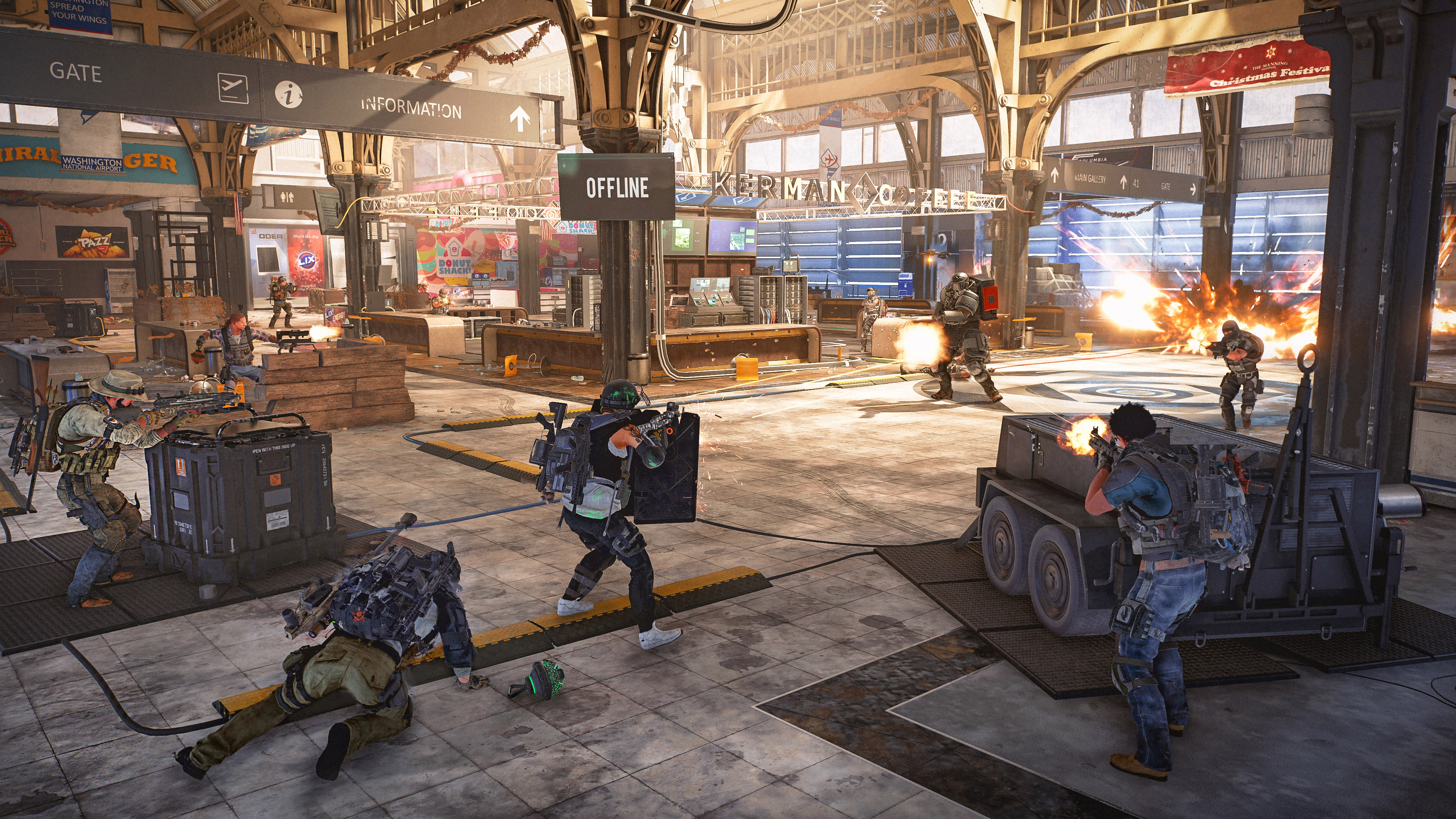 The Division 2 gets its first raid tomorrow, will be the first non-matchmaking activity screenshot