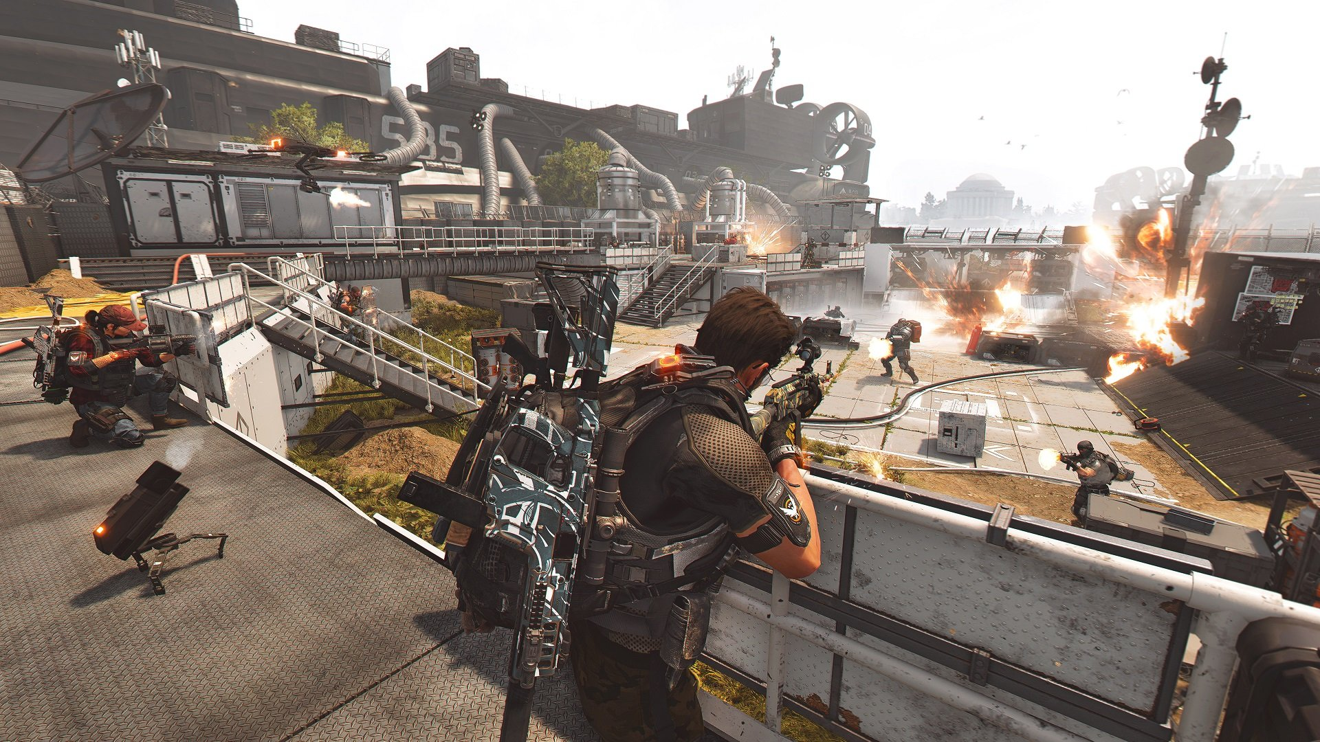 I shouldn't have to know seven dedicated Division 2 players to run