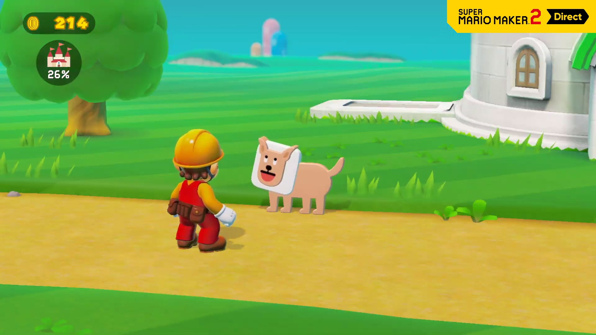 Super Mario Maker 2 goes big with online multiplayer and a story mode screenshot