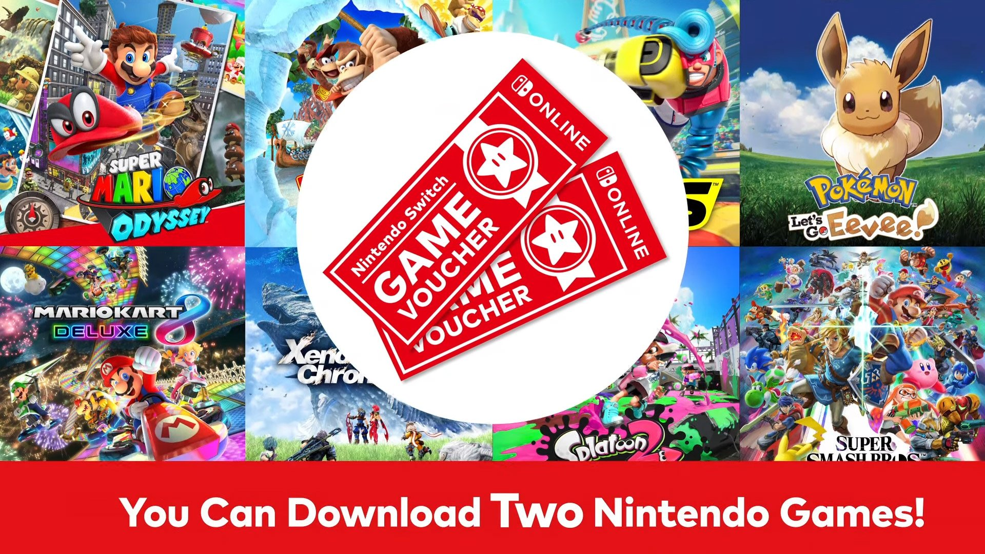 Nintendo Switch Game Vouchers are a curious new way to save money screenshot