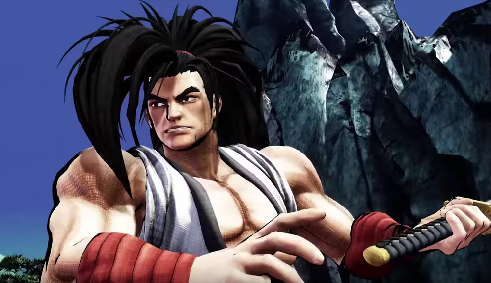 Samurai Shodown's Haohmaru brings his wild, untamed hair to battle screenshot