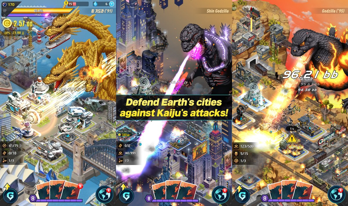 Godzilla: Defense Force - (Android/iOS) Released: 5/23