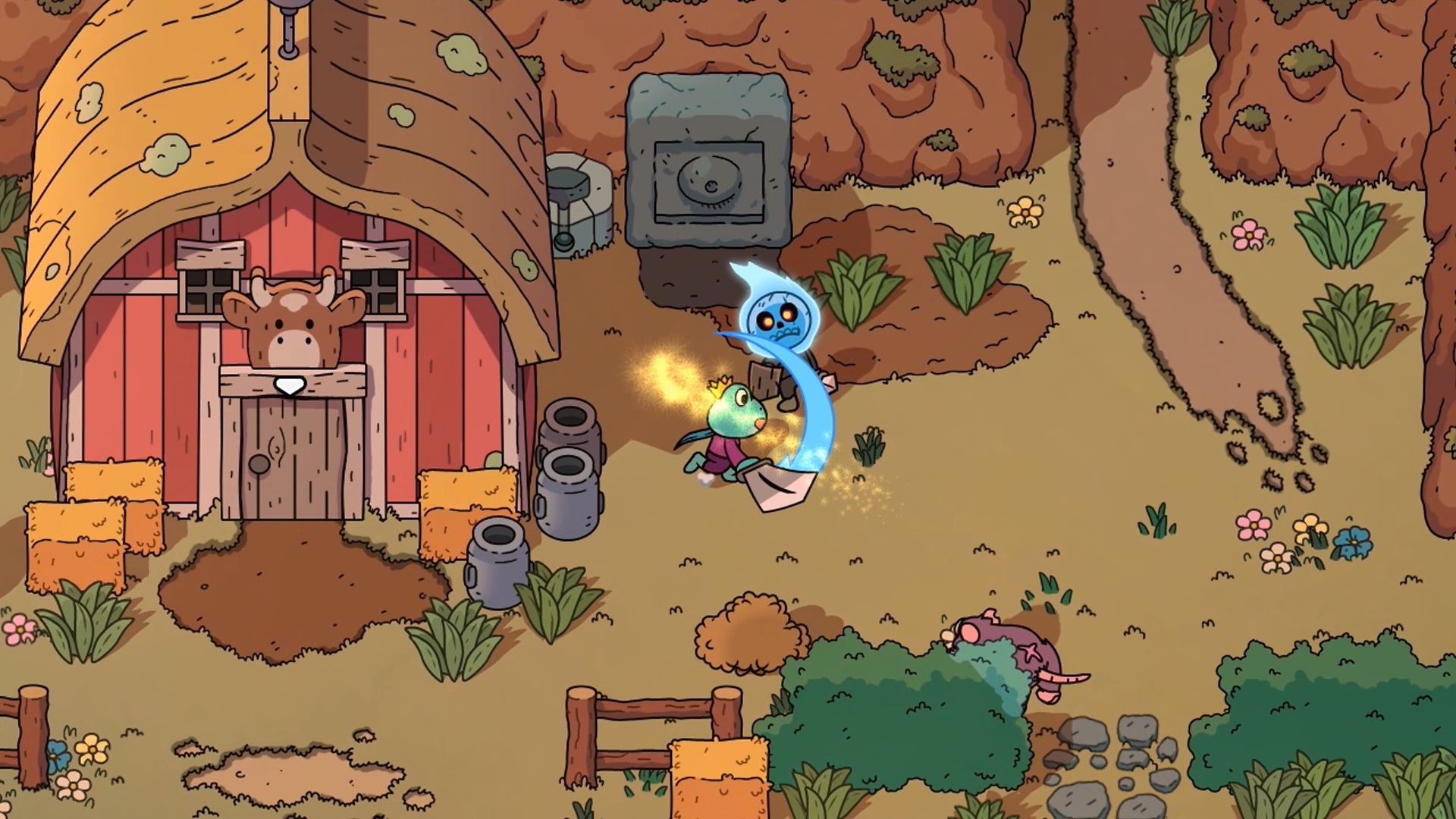 Contest: Salute your Switch with The Swords of Ditto screenshot