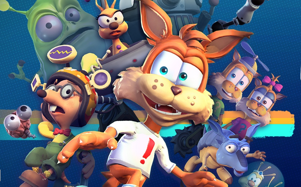Review: Bubsy - Paws on Fire! screenshot