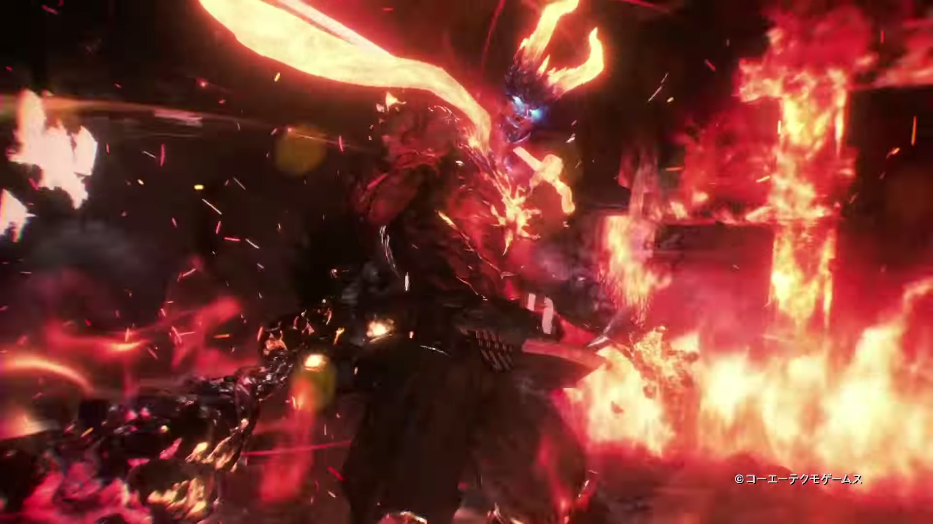 Nioh 2 demon form