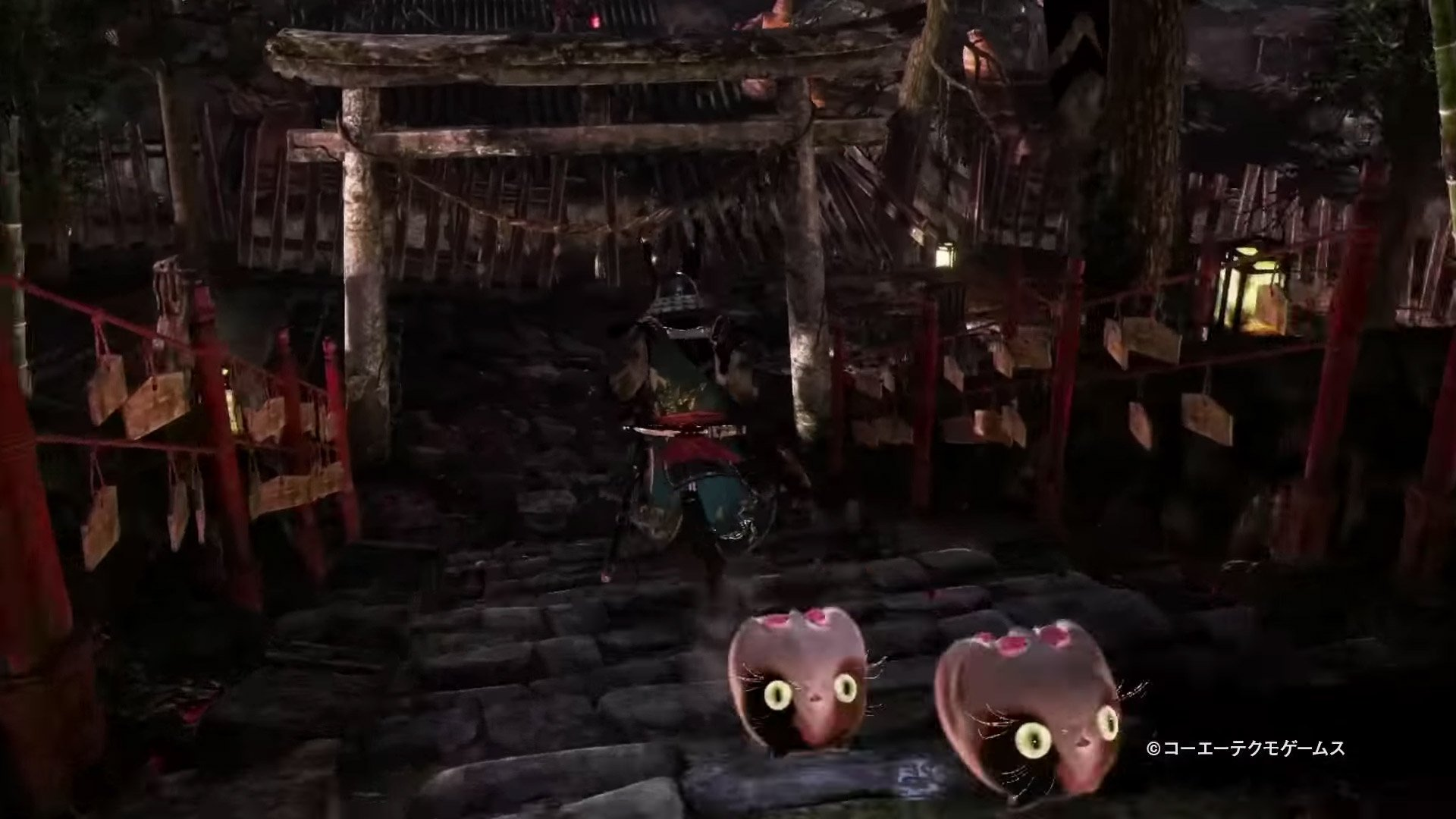 Nioh 2 rolling cats
