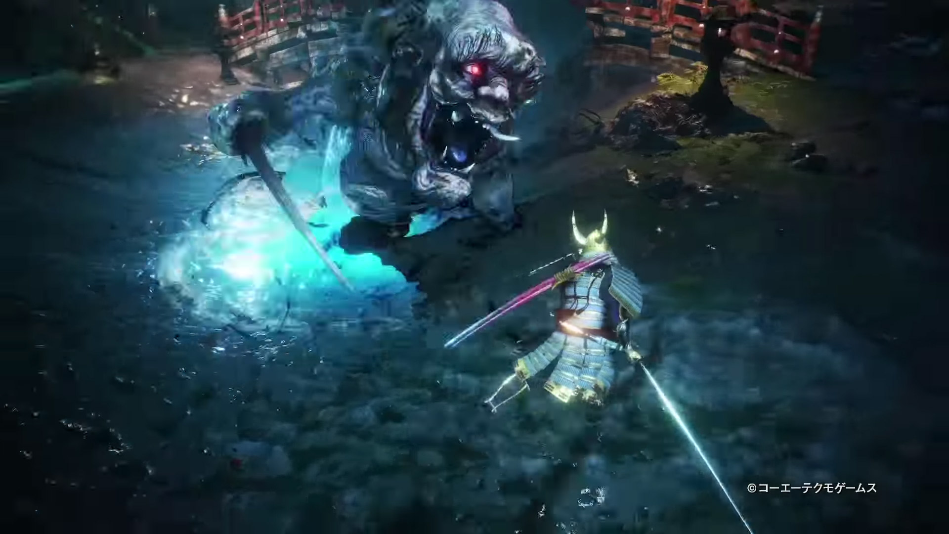 Nioh 2 ugly oni boss