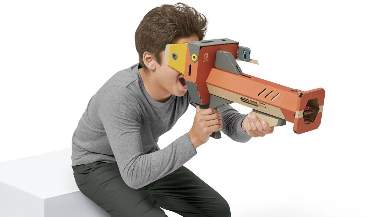 Nintendo adds Unity support for Labo VR