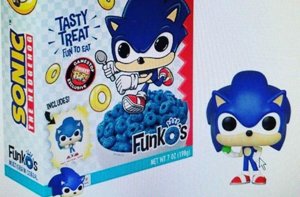 Following in the footsteps of Mega Man, Sonic is likely getting his own cereal