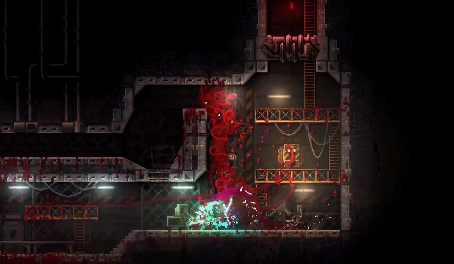 Carrion The Previously Announced Bloody Retro Platformer Hits Pc