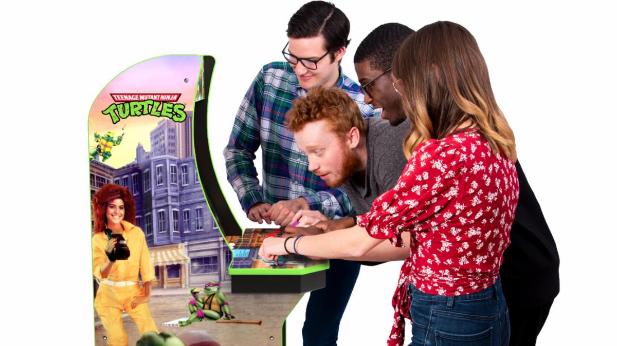 Arcade1Up strikes gold with new X-Men and Teenage Mutant Ninja Turtles arcade cabinets screenshot