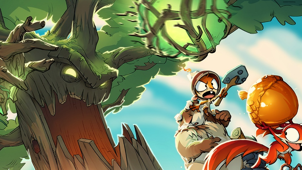 Fight the squirrel menace in Acron for Oculus Rift and Quest screenshot