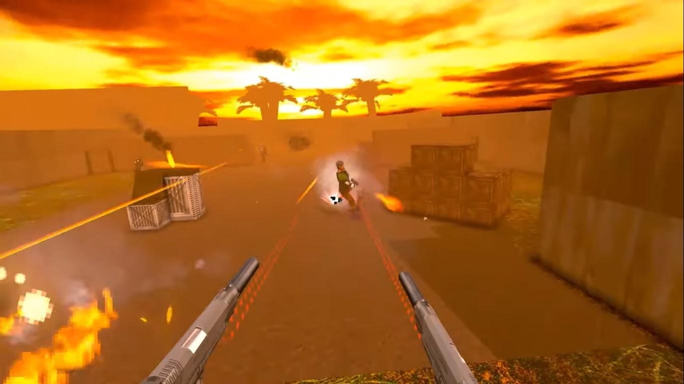 New Blood set to publish Maximum Action, a John Woo inspired shooter screenshot