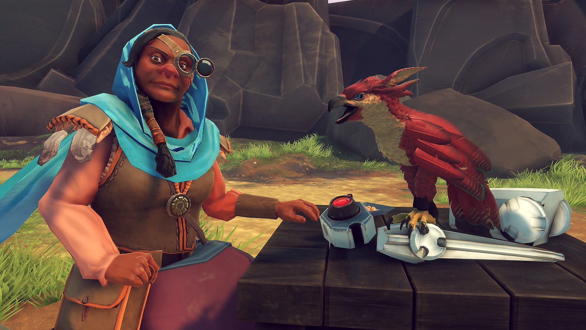 Falcon Age flaps to PC with VR support screenshot