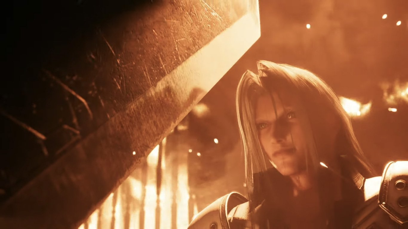 Final Fantasy Vii Remake Unveils Tifa And Sephiroth