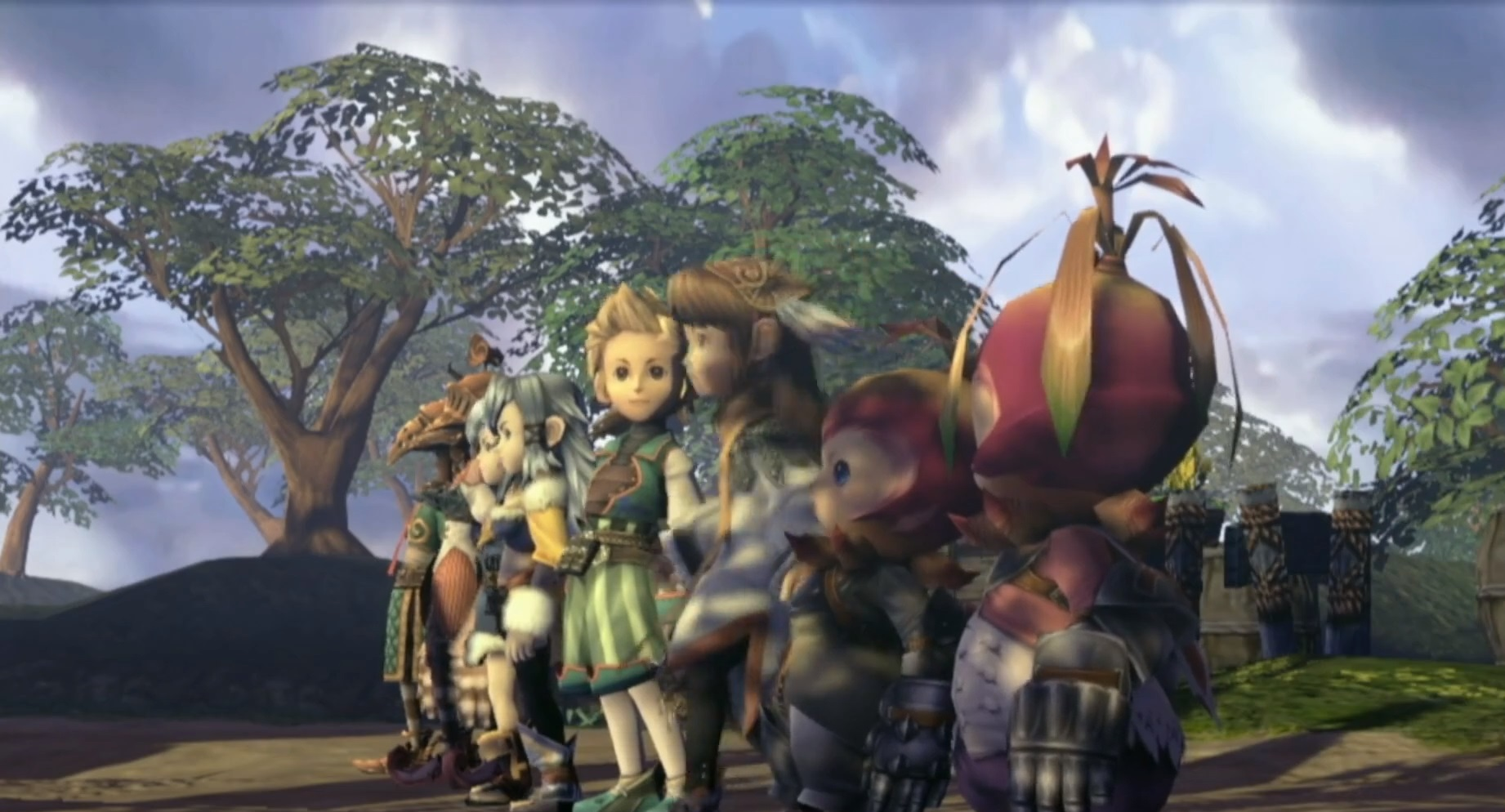Final Fantasy Crystal Chronicles is being remastered for PS4 and Switch screenshot