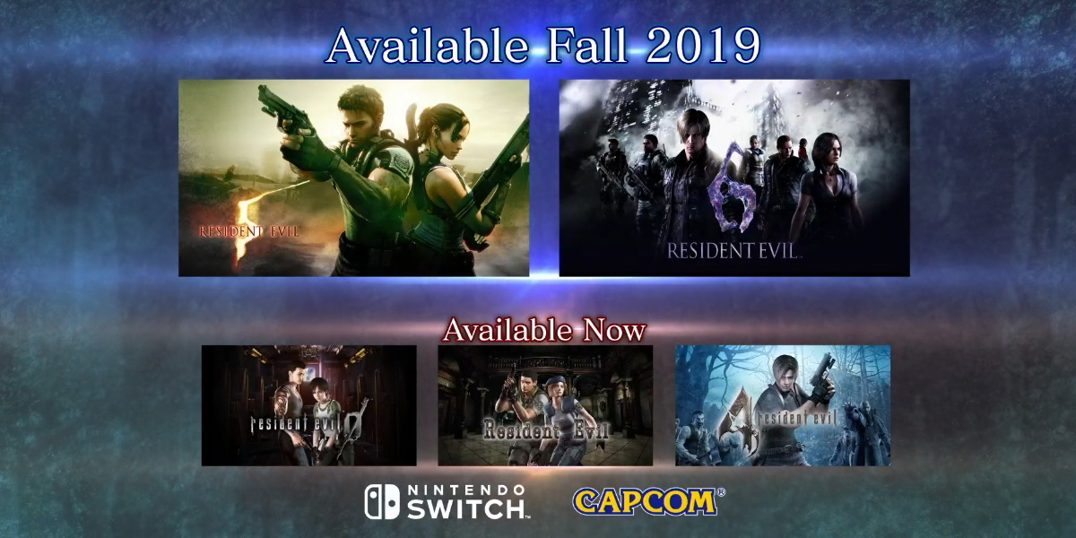 Resident Evil 5 and 6 are coming to Switch screenshot