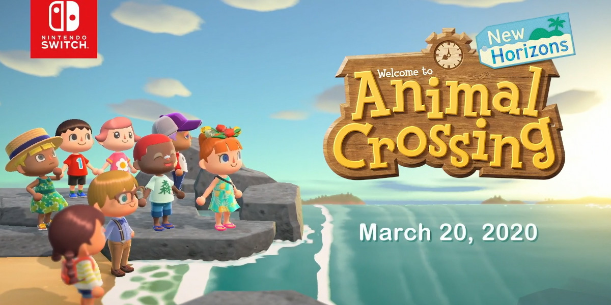 Animal Crossing New Horizons is coming on March 20, 2020 screenshot