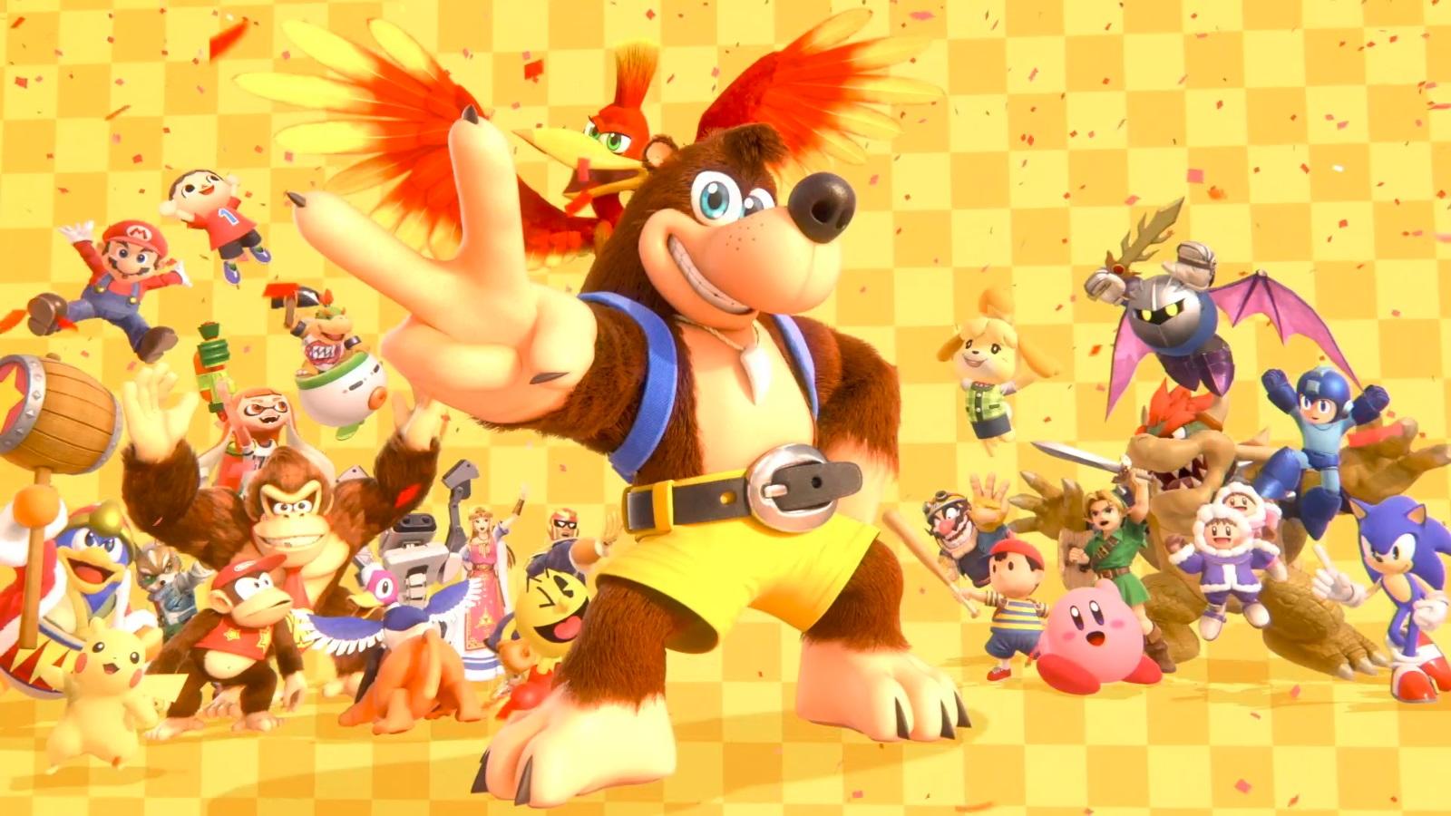 Banjo and Kazooie are coming to Super Smash Bros. Ultimate! screenshot