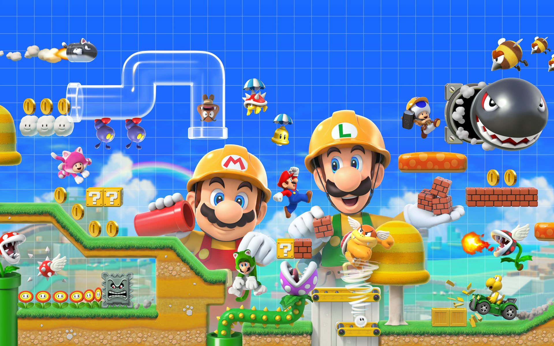 Nintendo backtracks on Super Mario Maker 2 restrictions, will allow friends to play together online screenshot