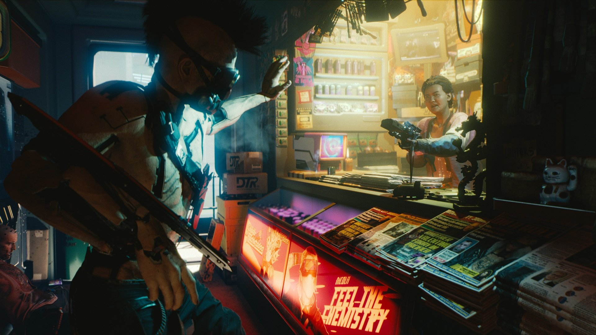Change of plans: Cyberpunk 2077 can be beaten as a pacifist screenshot