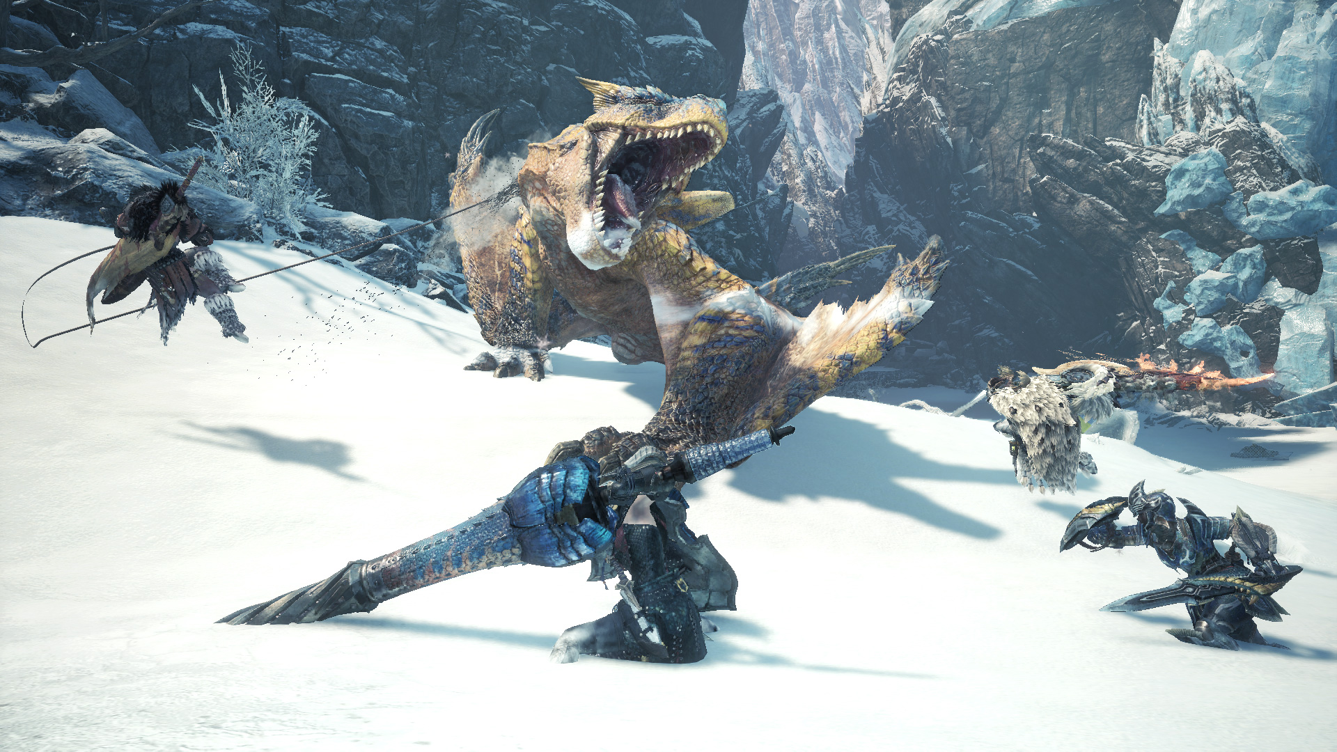 After using the new tools in Monster Hunter World: Iceborne, there's no going back screenshot