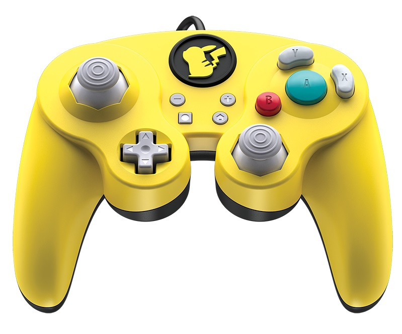 PDP Wired Fight Pad Pro Pikachu Pokemon Contest E3