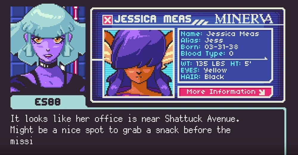 Neurodiver, the sequel to 2064: Read Only Memories, is coming in 2020 screenshot