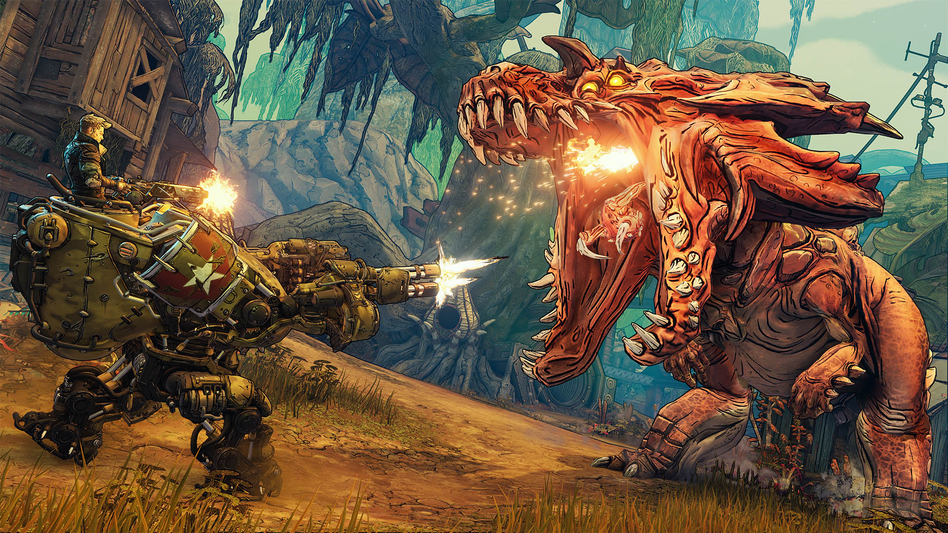 Borderlands 3's Moze feels a little bit like Borderlands 2's Salvador screenshot