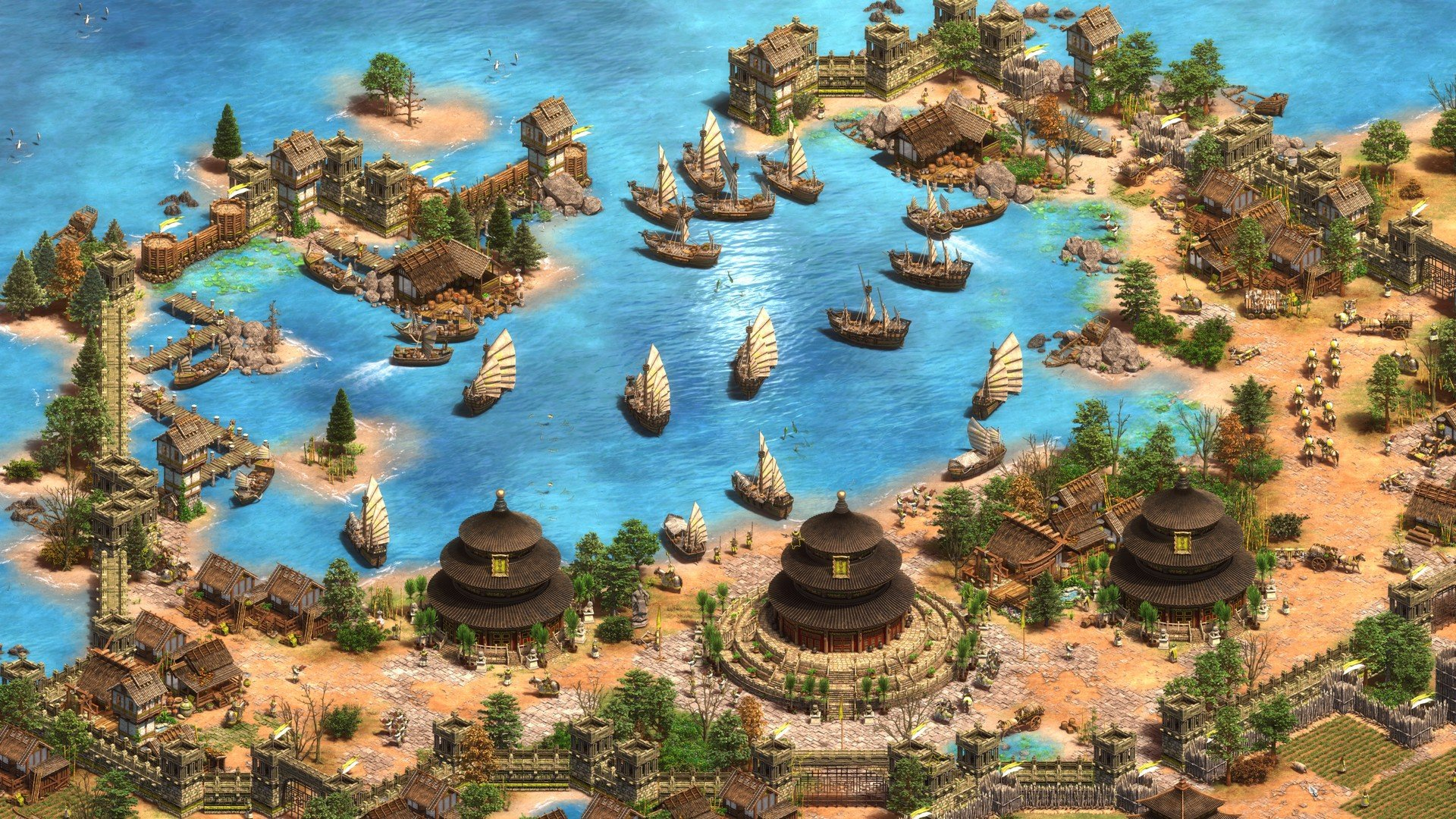 Age of Empires II: Definitive Edition lives up to its title screenshot