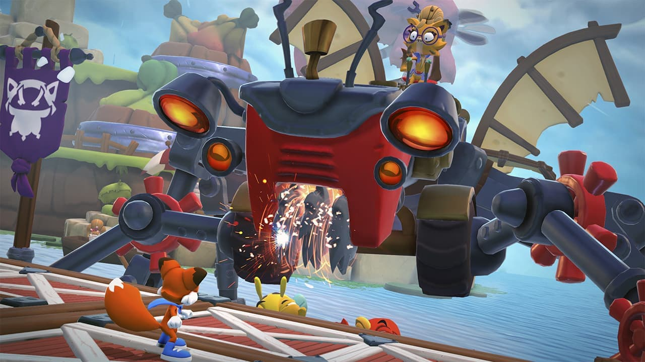 Previous Xbox console exclusive Super Lucky's Tale coming to Switch with a 'New' moniker screenshot