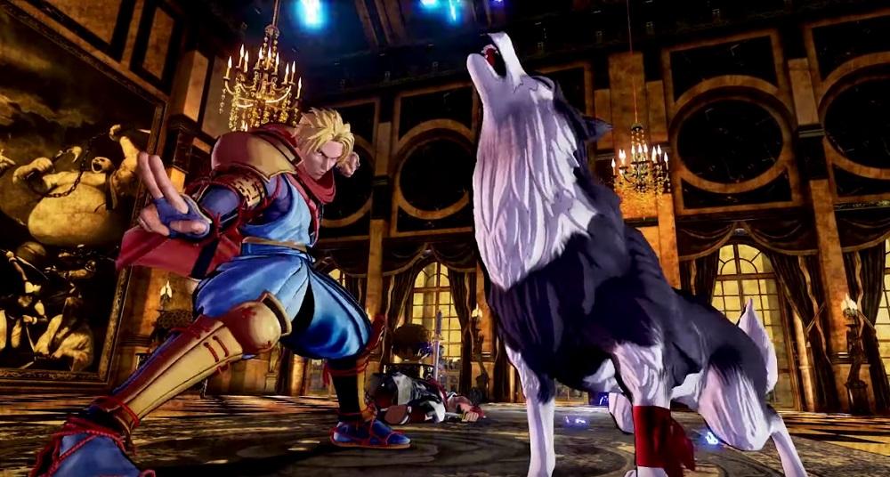 Galford and good girl Poppy are back in Samurai Shodown screenshot